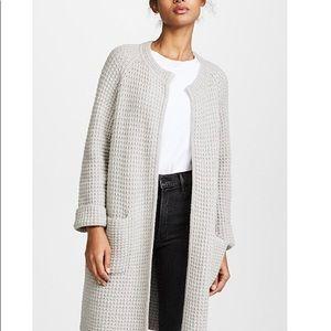 Madewell Waffle Stitch Sweater Jacket